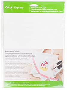 Cricut 2002671 Printable Iron-On for Scrapbooking, Light (4-Count)