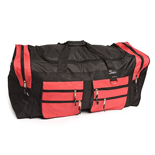 Weekender Gear Bag - OVERSIZE MOTOCROSS-ATV- MX- MOTORCYCLE GEAR BAG RED