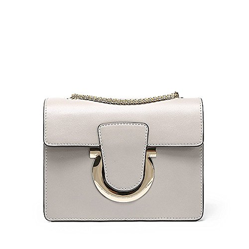 Sjmmbb Solo Bolso Bolsa, Bolsa Cuadrado Mini Bolsa Mujer,claret,20x15x8cm. Bag Sjmmbb Single, Square Bag Mini Bag Woman, Claret, 20x15x8cm. Gris Gray