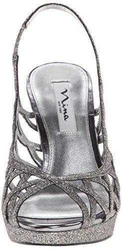 la Carbón Nina vestido YG de sandalias mujer Fantina Wilson PwFZqOAF