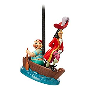 Disney Captain Hook and Mr. SMEE Sketchbook Ornament – Peter Pan