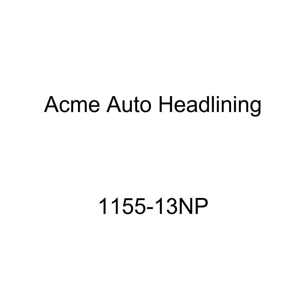 Acme Auto Headlining 1155-13NP Light Metallic Blue Replacement Headliner 1955 Buick Century 2 Door Riviera Hardtop 6 Bows