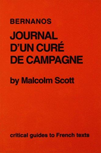 Bernanos: Journal d'un cure de campagne (Critical Guides to French Texts)