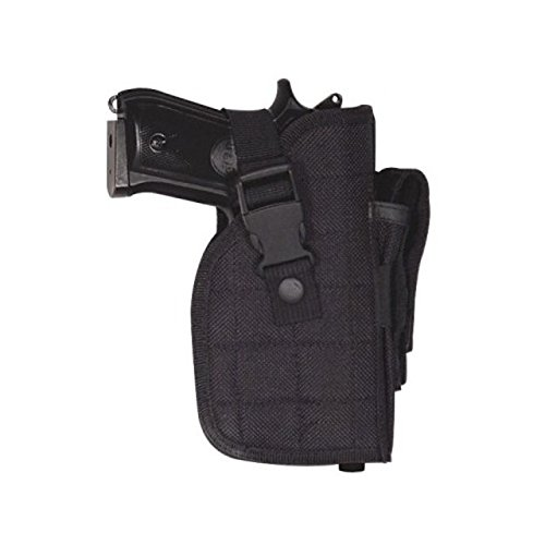 VooDoo Tactical 25-0014005000 Large Frame Adjustable Hip Holster, Right Hand, Woodland Camo