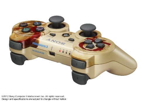 Playstation 3 DualShock Gold God of War Ascension Controller by Sony (Image #1)