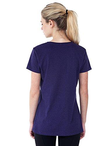 Disney Women's Fitted T-Shirt Eeyore What's Not to Love Print (Purple, Medium) by Disney (Image #4)