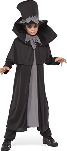Rubies Costume Child's Dapper Death Costume, Medium, (Dapper Dracula Costumes)