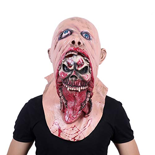 Walking Dead Resident Evil Monster Zombie Costume Party Latex Mask (Walking Dead B)