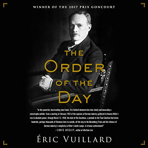 The Order of the Day by Brilliance Audio
