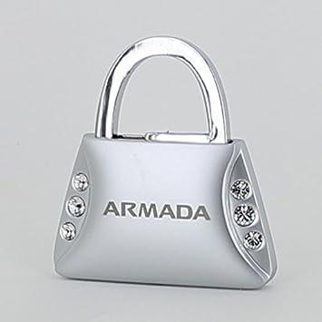Amazon.com: Nissan Armada Purse forma llavero w/6 Cristales ...