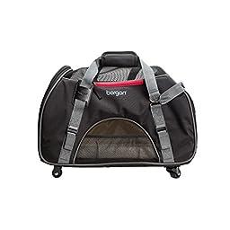 Bergan Wheeled Comfort Pet Carrier