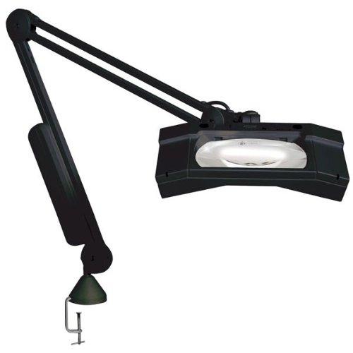 WAVE-Plus ESD Magnifier 3.5D-45in Arm-Edge Clamp-Black