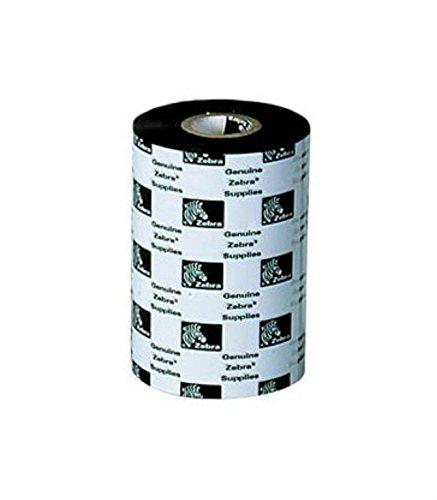 Zebra 02000BK10645 Thermal Transfer Wax Ribbon (4.17