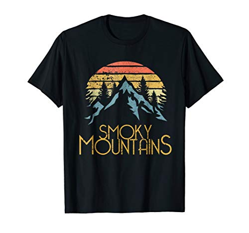 Vintage Great Smoky Mountains National Park GSMNP T-shirt