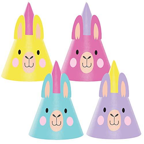 Llamas In Hats (Llama Party Party Hats, 24 ct)