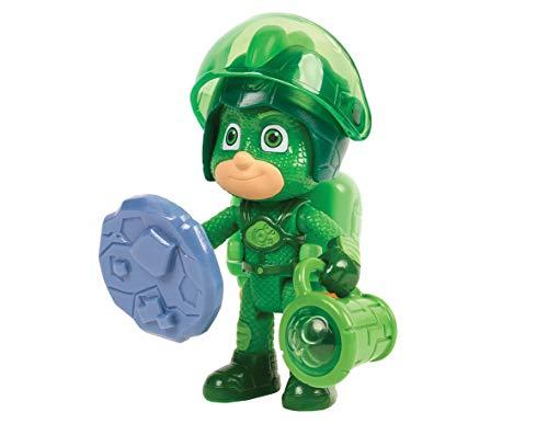 Pjmasks 95168 Super Moon Adventure Figure Set-Gekko, Green
