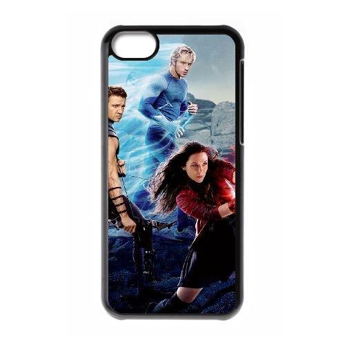 Avengers Age Of Ultron coque iPhone 5C Housse téléphone Noir de couverture de cas coque EBDOBCKCO11969