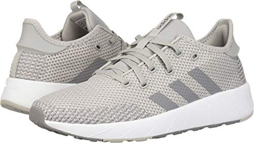 adidas Women's Questar X BYD, Grey/White, 7 M US