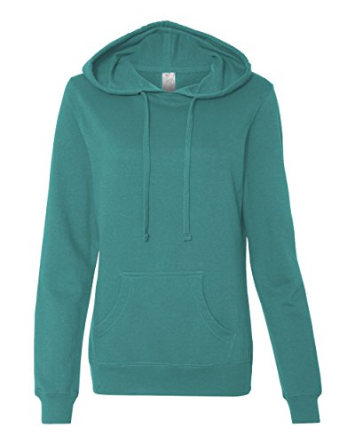ITC Juniors' Hooded Sweatshirt SS650 - Medium-Teal
