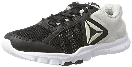 Reebok Yourflex Trainette 9.0 MT, Chaussures de Fitness Femme Noir (Black/skull Grey/white)