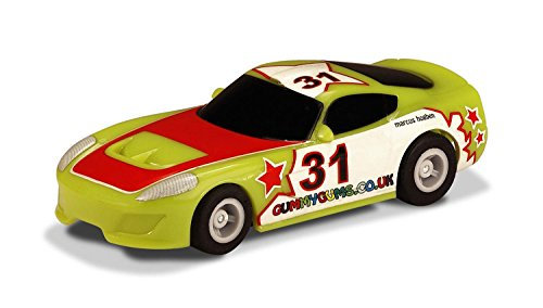 Scalextric Micro Green #31- G2160 1:64 Scale Stock Car (Slot Scale 32 Body Car)