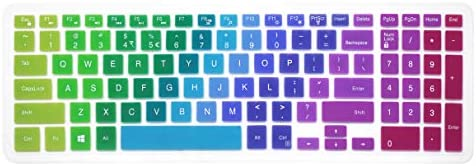 Ombre Blue Keyboard Cover for Dell G3 G5 G7 15.6 Series//Dell Inspiron 15 3000 5000 7000 15.6 inch//17.3 Dell Inspiron 17 5000 and 7000 Series Keyboard Protective Skin with Numeric Keypad