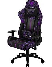Cadeira Gamer, Thunderx3 Bc3 Camo/RX Ultra Violet Camuflada/Roxo