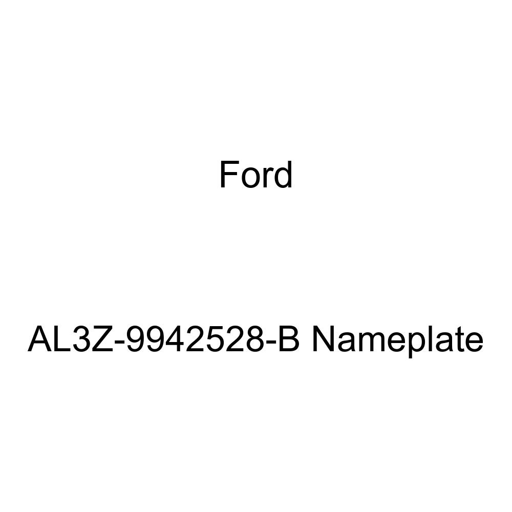 Genuine Ford AL3Z-9942528-B Nameplate