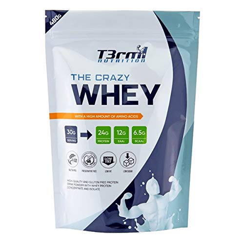 T3rm1 Nutrition – The Crazy Whey, 480g – Protein, EAA, BCAA – (Milchreis-Zimt)