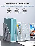 Deli Collapsible Magazine File Holder/Desk