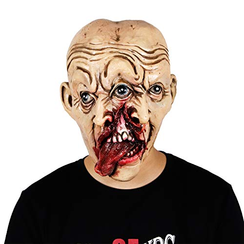 Halloween Horror Bloody Zombie Double Creepy Face Mask