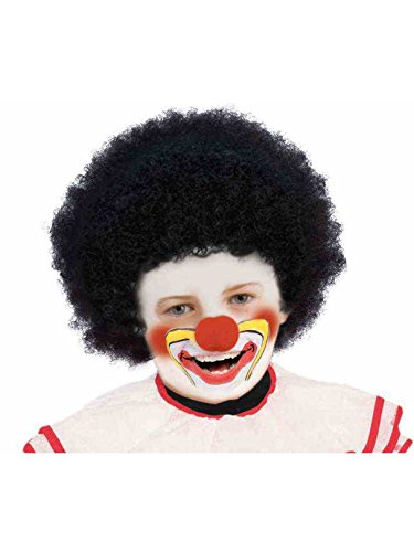 Forum Child Black Afro Wig, Black -