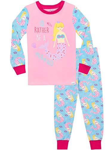 - Harry Bear Girls' Mermaid Pajamas Size 4 Multicolored