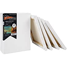 """CONDA  Artist Strentched Canvas 8"""" x 10"""" 10 Pack"""