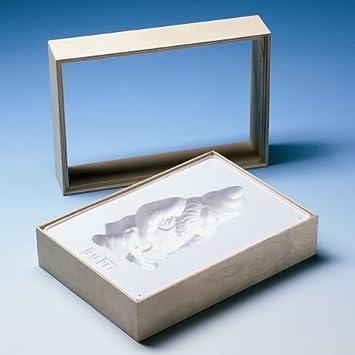 Relieve formas/moldes de fundición sin colada/yeso figuras de marco de madera para moldes A5 madera maciza: Amazon.es: Juguetes y juegos
