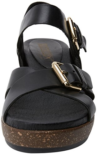 Pikolinos Mykonos W1g, Sandales Compensée Femme Noir (Black)