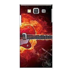 Excellent Hard Phone Case For Samsung Galaxy A3 (OKz9412Caaz) Allow Personal Design Trendy Metallica Pattern