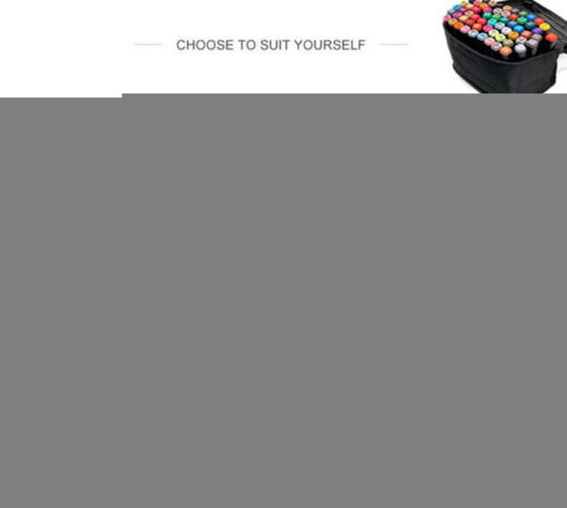 DOMINTY Touch Twin Marker Set de 168 Colores de marcadores de Arte para Artistas arquitectos: Amazon.es: Hogar