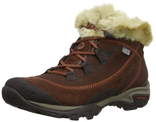 Merrell Snowbound Drift Waterproof, Women's Hiking Boots Deep Taupe