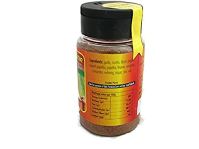 Barbecue Grill Rich Mix Galilee Holyland Seasoning for Meat BBQ 140g 6 oz Jar