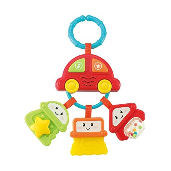 Winfun Sound and Rattle Keys, Multi Color