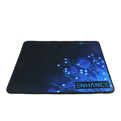 Large-Gaming-Mouse-Pad-XL-by-ENHANCE-Extended-Mouse-Mat-Anti-Fray-Stitching-Non-Slip-Rubber-Base-High-Precision-Tracking-for-PUBG-League-of-Legends-More