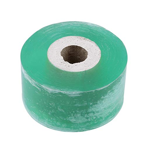 LJSLYJ Manual Self-Adhesive Garden Fruit Tree Grafting Special Film Winding Tape Wrapping Film Grafting Tree Grafting Tape,Green - Tape Grafting