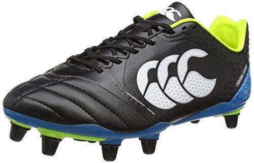Elite Rugby Boots (Canterbury Stampede Elite 8 Stud Rugby Boots, Black, US10)