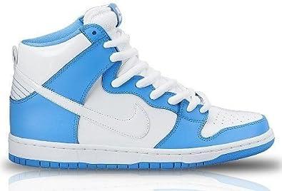 complicaciones Gobernador camarera  Amazon.com: Nike Dunk Alto Premium Sb, color azul/blanco: Shoes