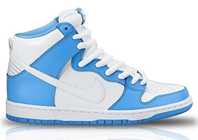 40d1d82cd37 Image Unavailable. Image not available for. Color  Nike Dunk High Premium SB  Blue White