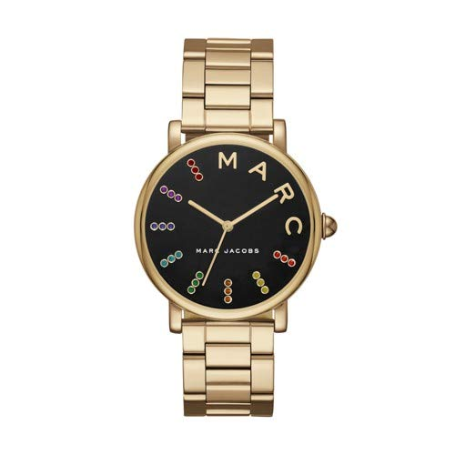 Marc Jacobs Women's 'Roxy' Quartz Stainless Steel Casual Watch, Color:Gold-Toned (Model: MJ3567)