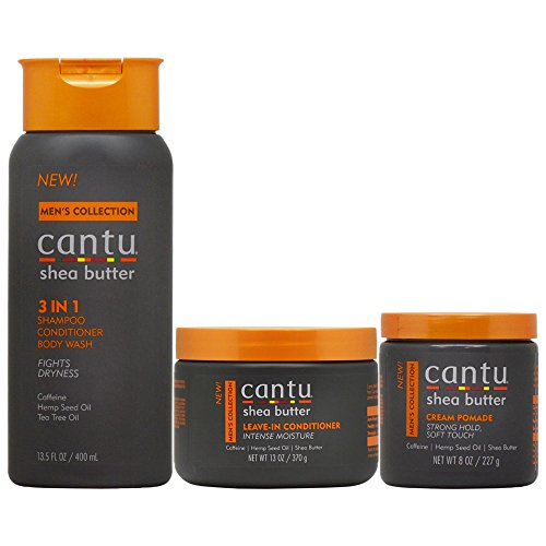 Cantu Men's Hair Care 3-piece Set