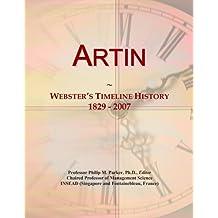 Artin: Webster's Timeline History, 1829 - 2007
