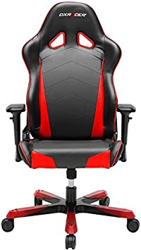 Amazon.com: DXRacer OH/TS29/NR Tank Series Black and Red Gaming Chair -  Includes 2 Free Cushions: Furniture & Decor